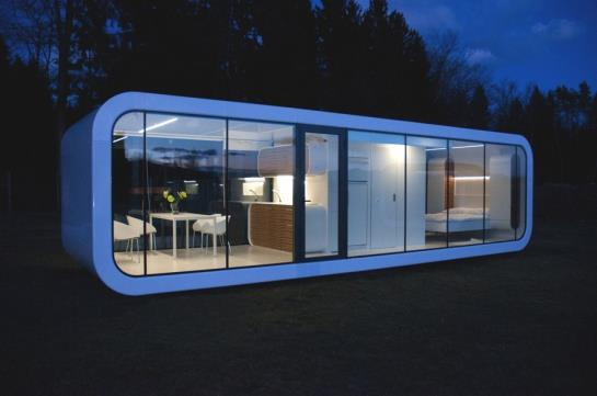 Caravanes customis es originales - Architect designed modular homes nz ...