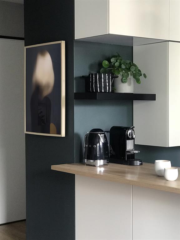 Rénovation d'un Appartement à Lyon - Agencement et Décoration - Cuisine