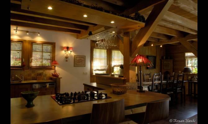 R sidence de montagne - Cuisine style chalet ...