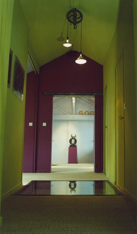 Architecture atypique dans le couloir