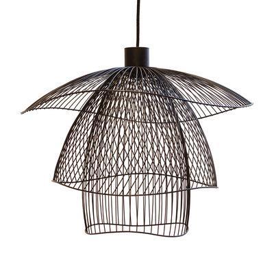 Suspension Papillon Small / Ø 56 cm - Forestier noir en métal