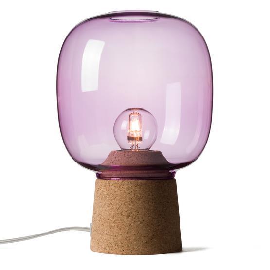Lampe à poser violette Picia - Enrico Zanolla