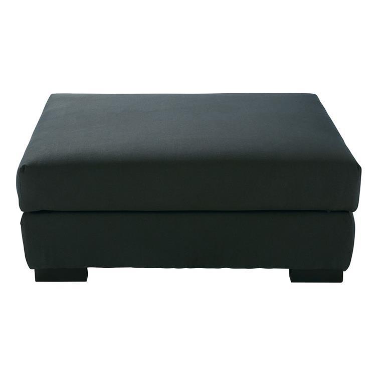 Pouf de canapé modulable gris anthracite Terence Maisons du monde