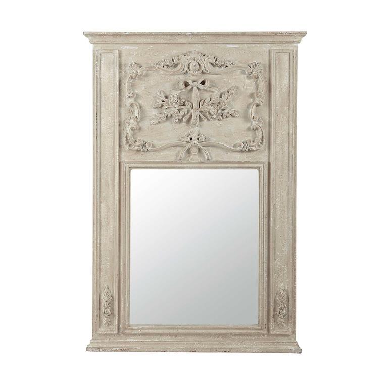 Miroir trumeau en manguier H 136 cm MATHILDA
