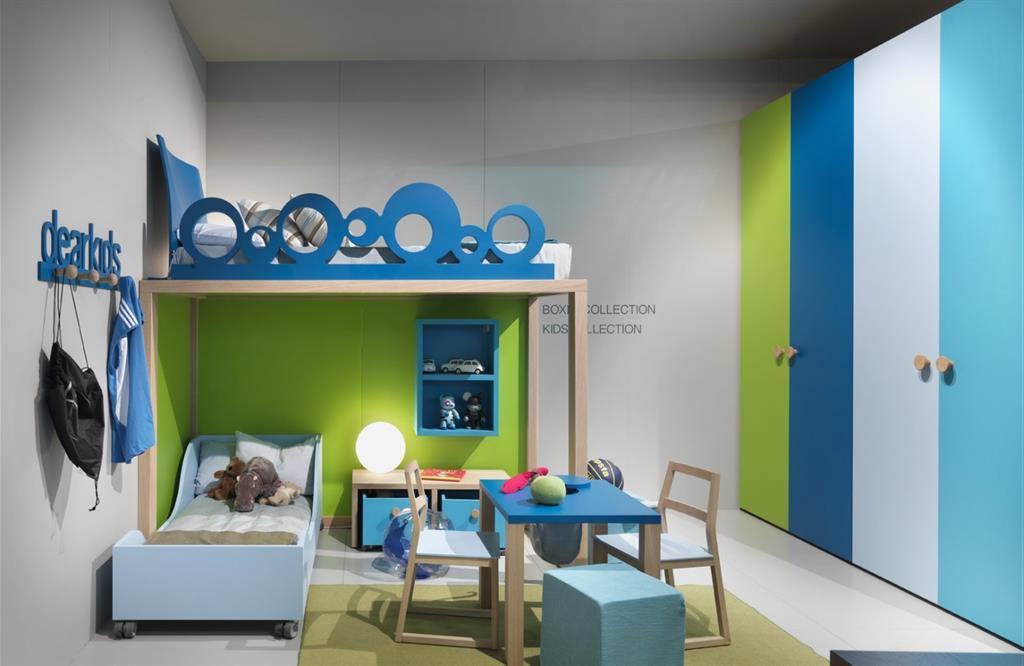 Un Mobilier De Chambre D 39 Enfant Bien Pratique Pour Deux