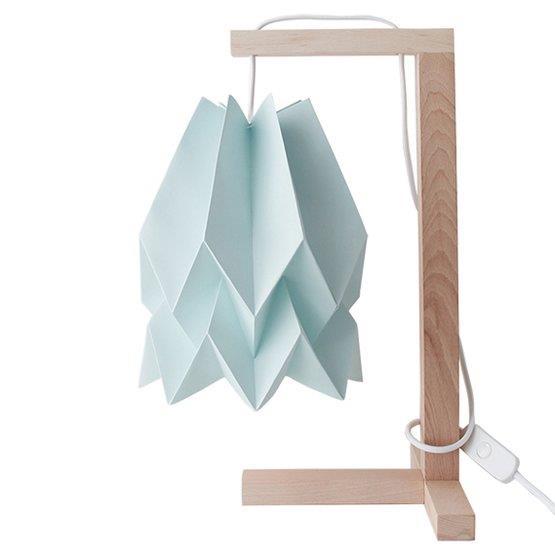 Lampe à poser bleu pastel - Orikomi