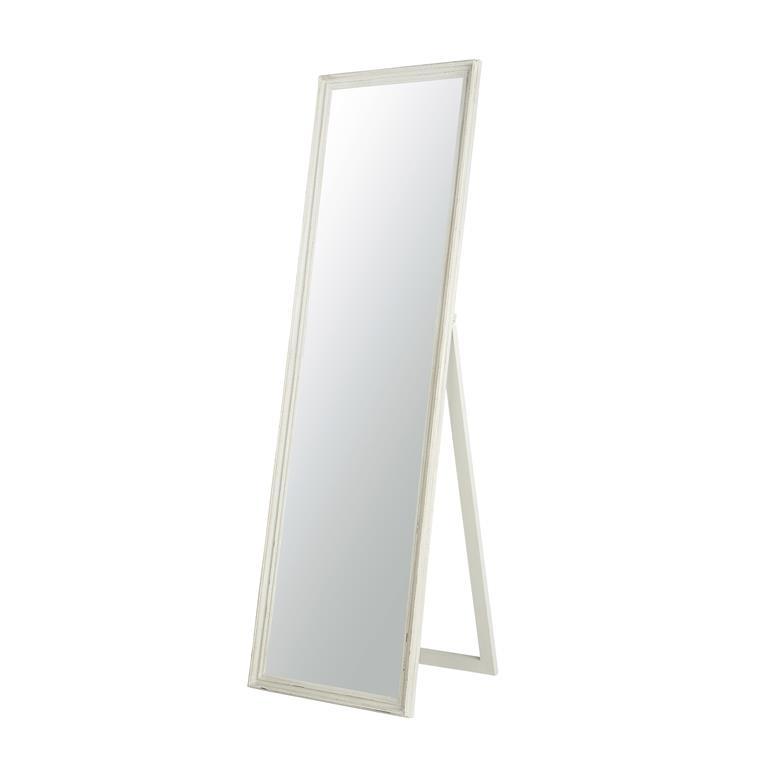 Miroir psyché en bois gris clair H170 cm CLÉA