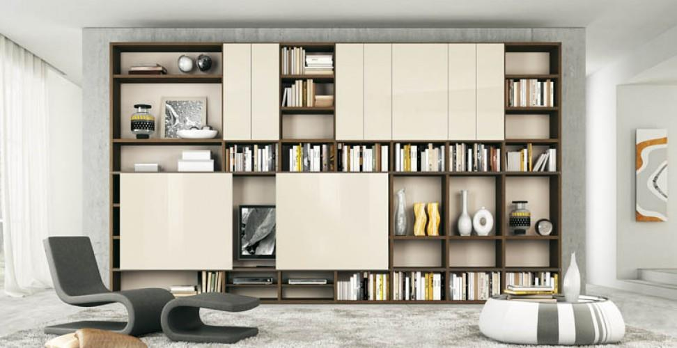 Niches et rangements comment optimiser ses murs par agn s vermod domozoom - Amenagement bibliotheque salon ...