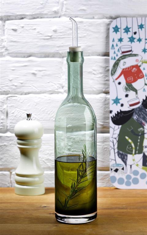 Bouteille pour huile d'olive avec pipette