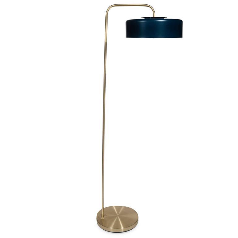 Lampadaire en métal H 140 cm NERANO