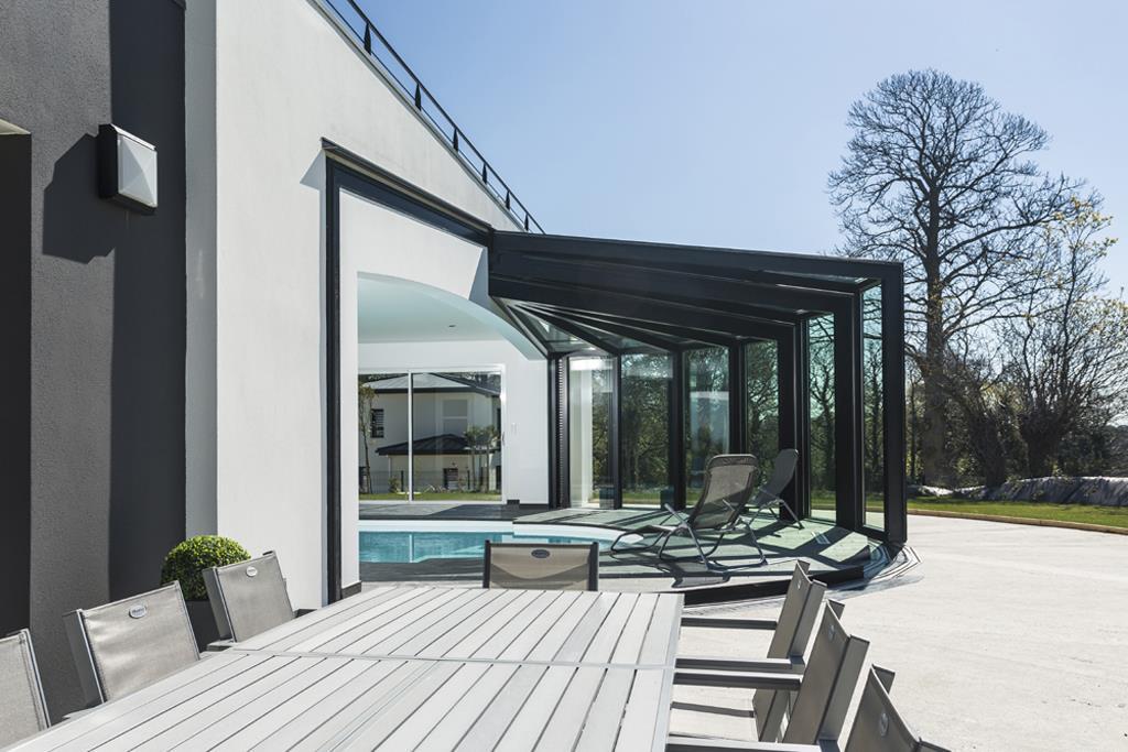 veranda ouverte terrasse