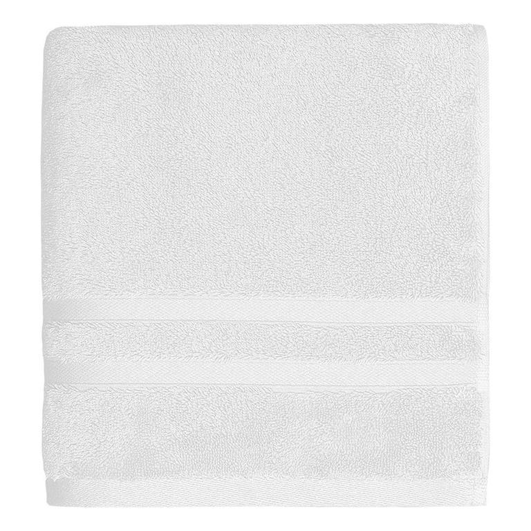 Serviette de toilette 600gr/m²  Blanc 50x100 cm
