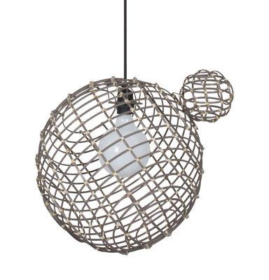 Suspension Sphere Large / Bambou - Ø 40 cm - Forestier taupe