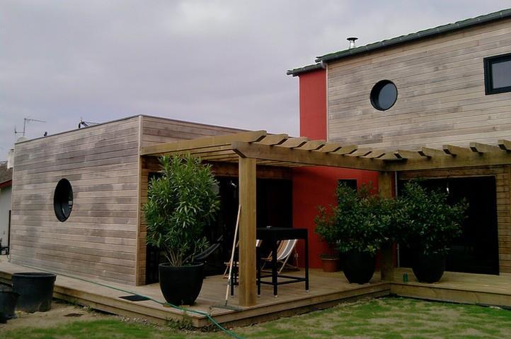 D coration terrasses plein d 39 id es pour cr er l 39 ambiance par marion - Deco contemporaine bois ...
