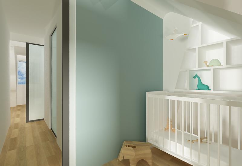 Réalisation d'une chambre d'enfants et création de niches en placo réalisé