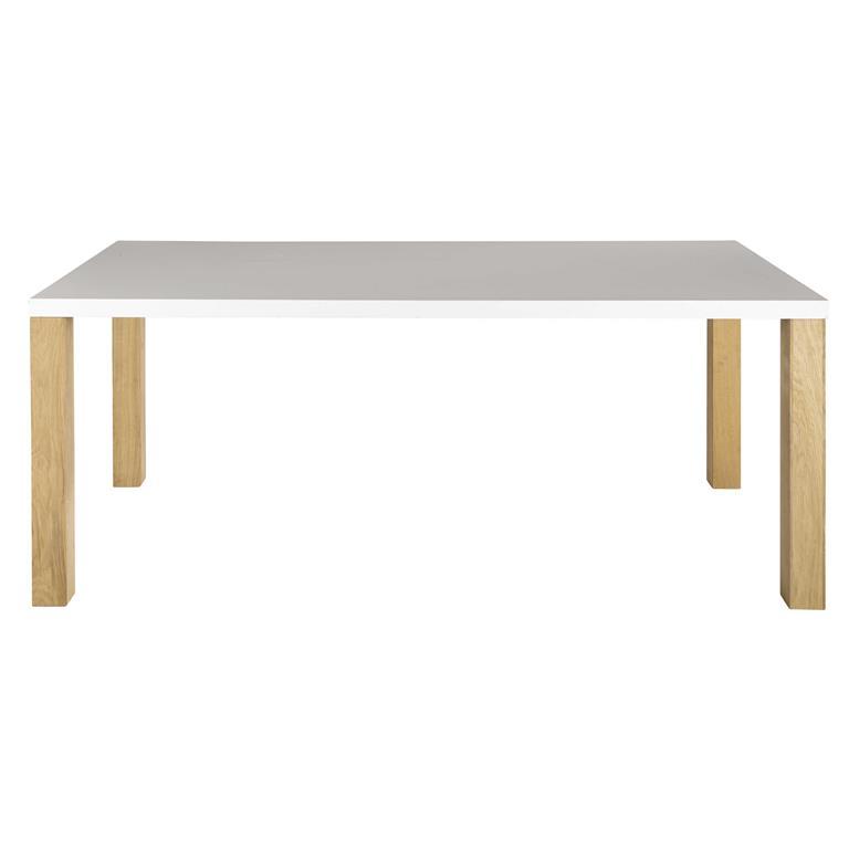 Table A Manger Blanche 8 10 Personnes L200 Austral