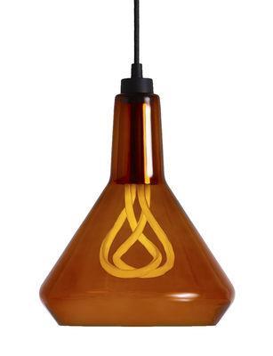 Suspension Drop Top A en verre / avec ampoule Plumen n°001