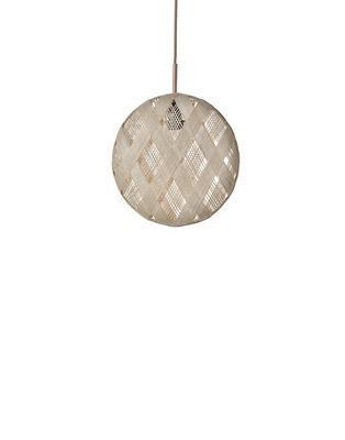 Suspension Chanpen Diamond / Ø 19 cm - Forestier beige en tissu