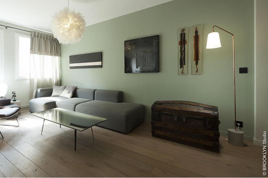 s jour au mur vert d 39 eau ressource peintures photo n 23. Black Bedroom Furniture Sets. Home Design Ideas