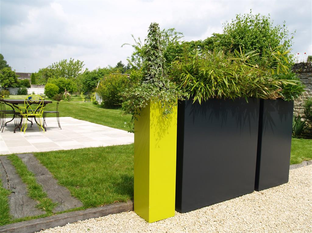 Jardini res en brise vue atelier so green jardini res for Jardin et design