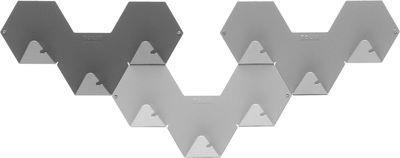 Patère Simplex lot de 3 - Tolix gris en métal