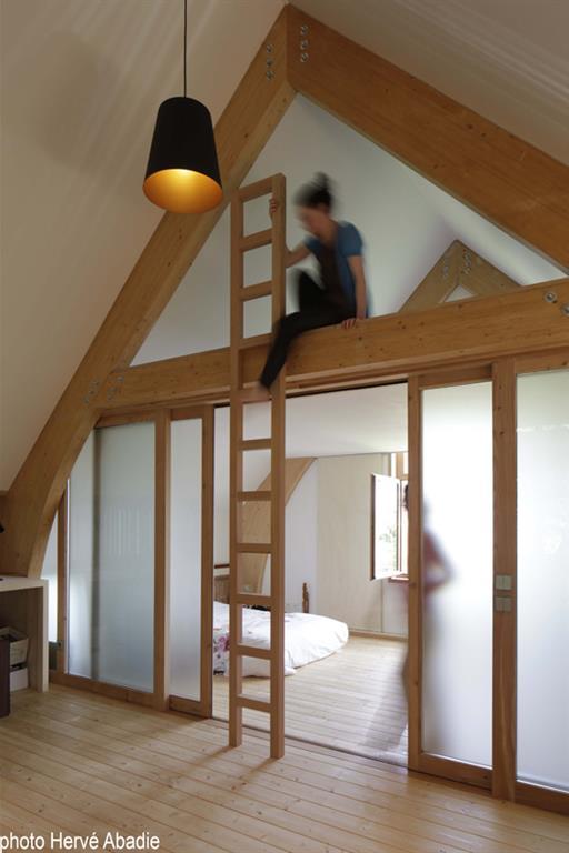 Mezzanine et chambre à l\'étage arba photo n°16 - Domozoom