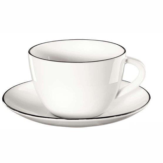 Tasse à café avec soucoupe Ligne - ASA