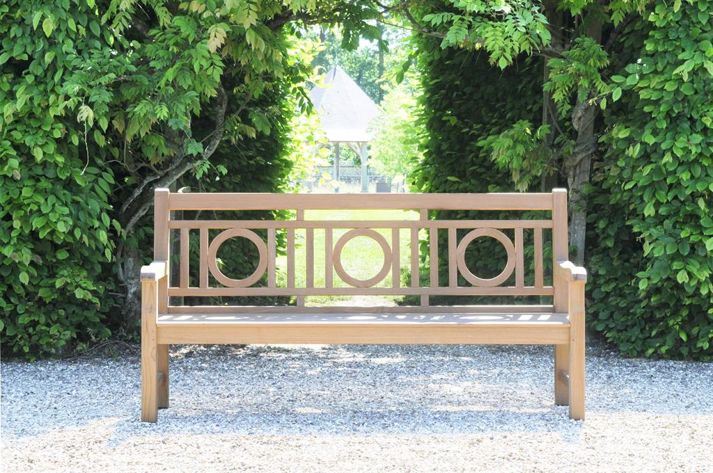 Banc en teck de style anglais tectona photo n 99 domozoom - Banc en teck pour jardin ...