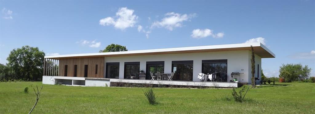 Villa contemporaine en ossature bois