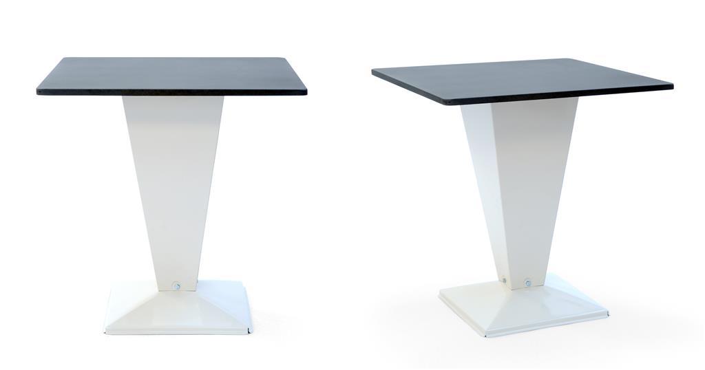 Table kub 70x70 tolix steel design sas ref table kub 70x70 for Table 70x70 design