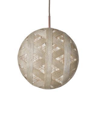 Suspension Chanpen Hexagon / Ø 36 cm - Forestier beige en tissu