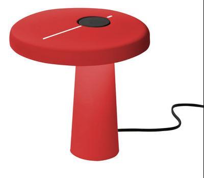 Lampe de table Hoop LED - Martinelli Luce Rouge en Métal