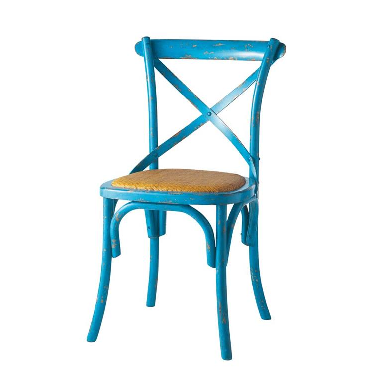 Chaise bleue Tradition