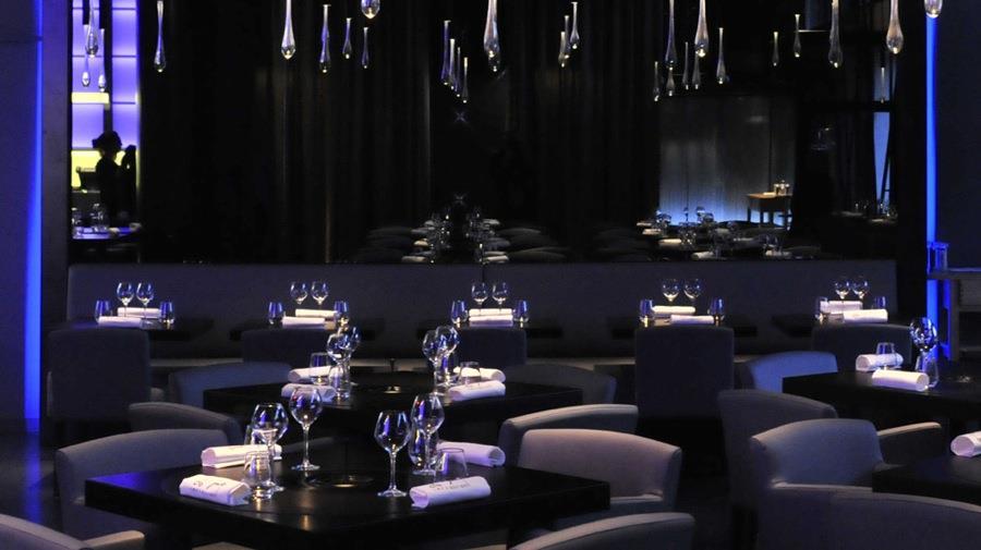 Bien-aimé Salle de restaurant noire Jean-Yves Arrivetz photo n°89 SD04