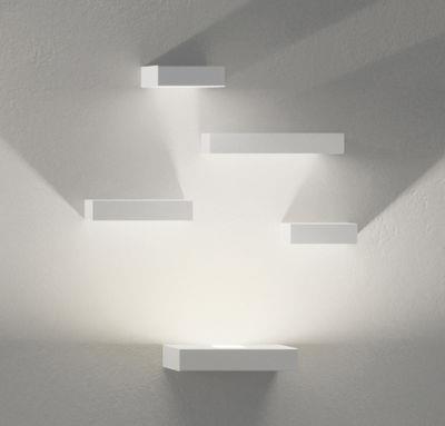 Applique Set LED / Set 5 modules - Vibia blanc en métal