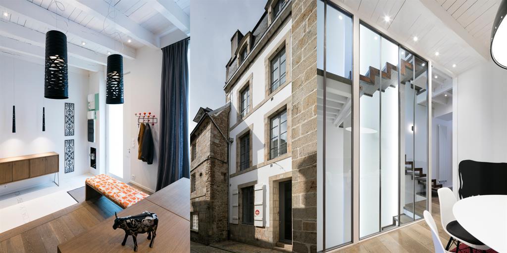 Rénovation & extension d'une maison de ville