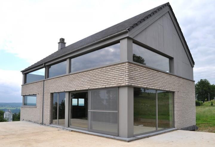 maison moderne brique – ventana blog
