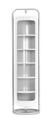 Armoire Cylindre Mono - Tolix blanc en métal