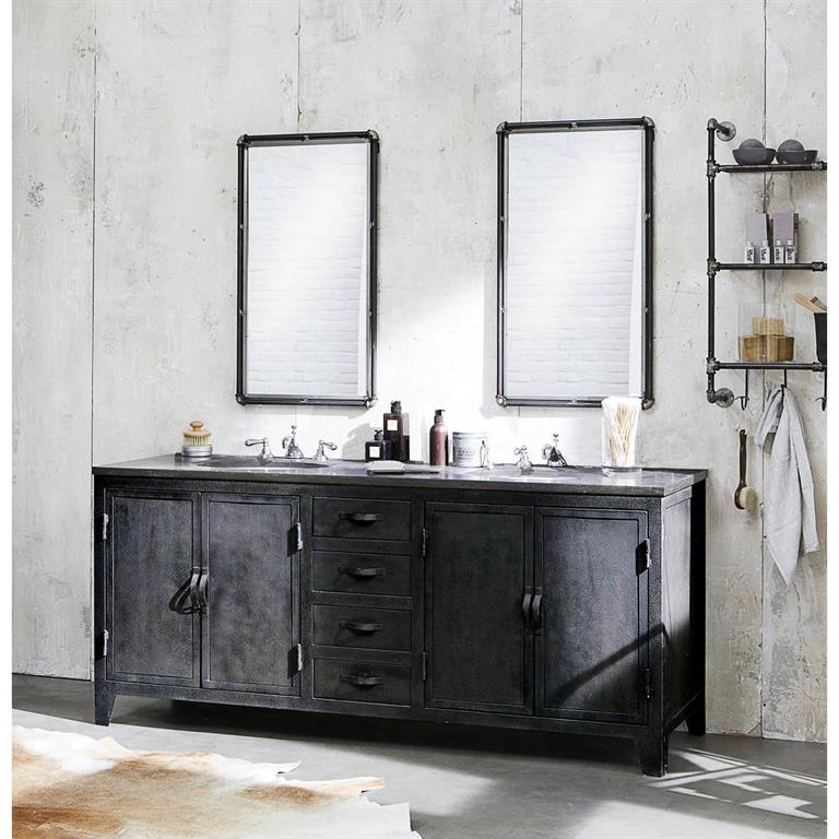 Miroir maison du monde magasin latest miroir bois blanc Miroir xxl ikea