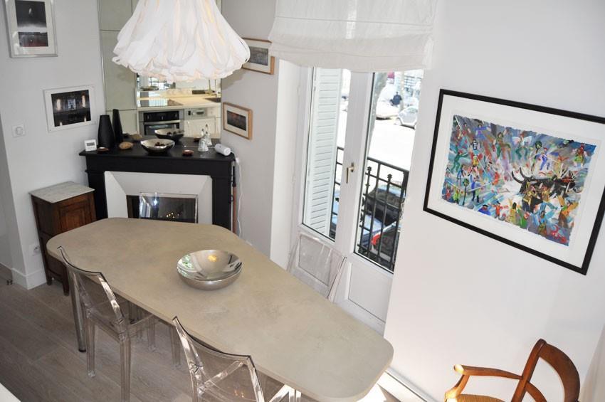 coin repas lumineux avec chemin e d 39 angle emm architectures. Black Bedroom Furniture Sets. Home Design Ideas