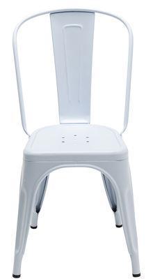 Chaise A empilable / Acier - Couleur mate - Les Couleurs®