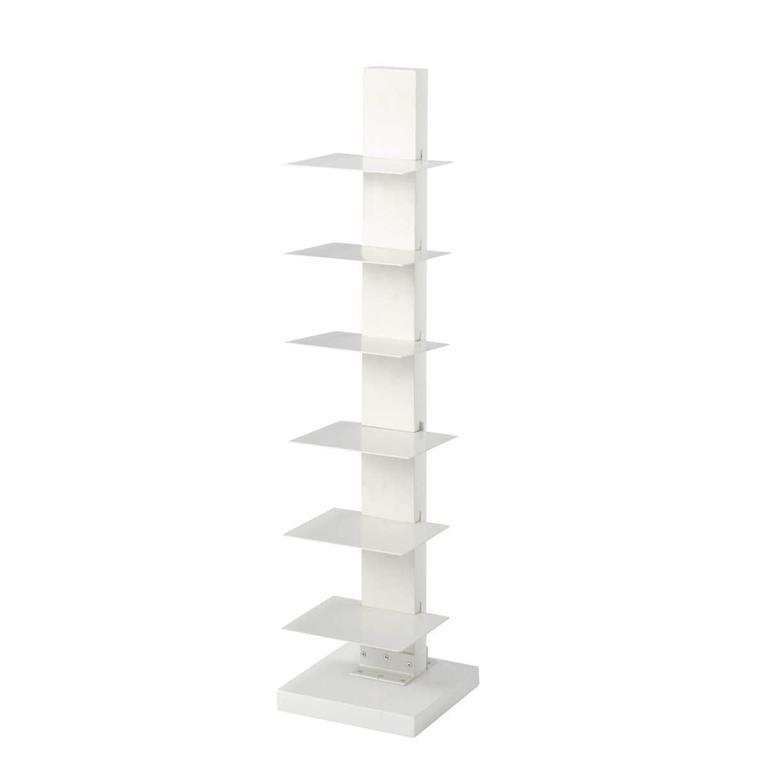 Étagère range-livres blanche L 25 cm EBLA