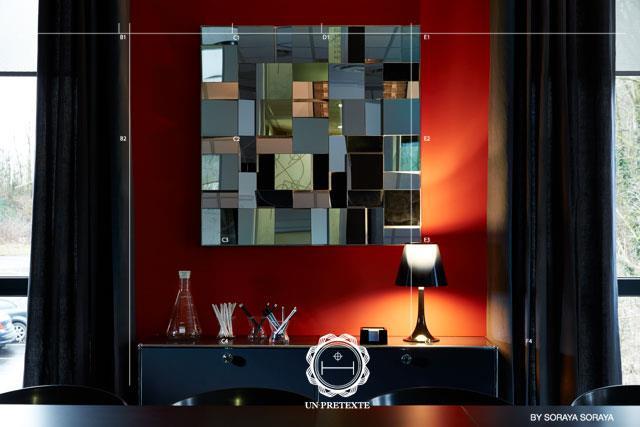 Des id es pour utiliser les atouts du miroir en d coration - Salle de reunion avec design original enidees creatives ...