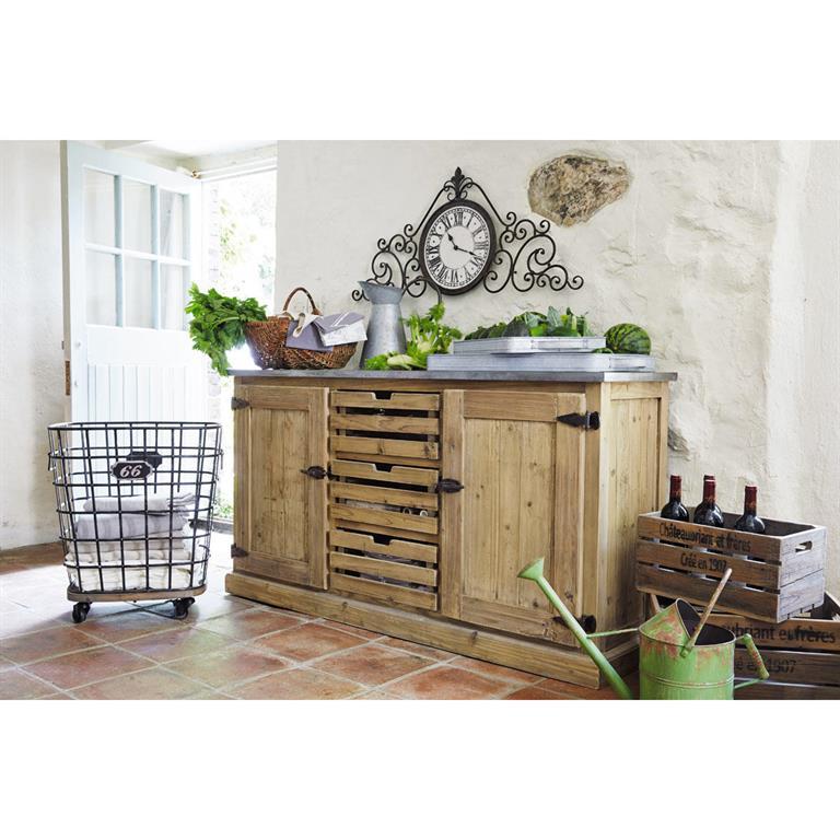 Buffet Maison Du Monde Vaisselier En Bois Recycl L Cm