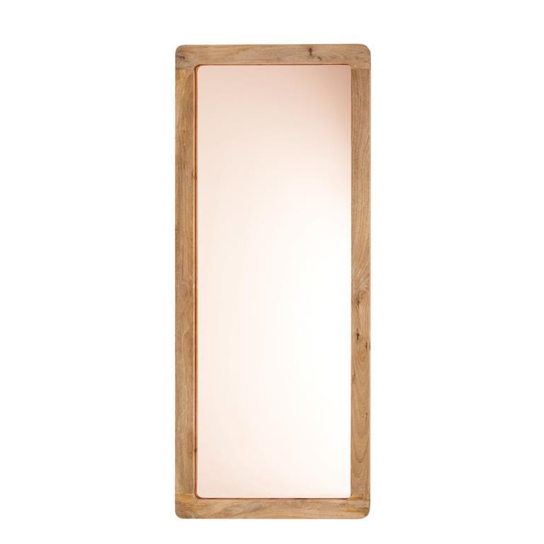 Miroir reflet cuivr en manguier 85x197 maisons du monde for Miroir sans reflet
