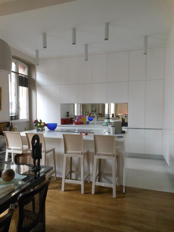 ouverture cuisine latest ouverture cuisine sur salon amazing stunning cuisine cuisine with. Black Bedroom Furniture Sets. Home Design Ideas