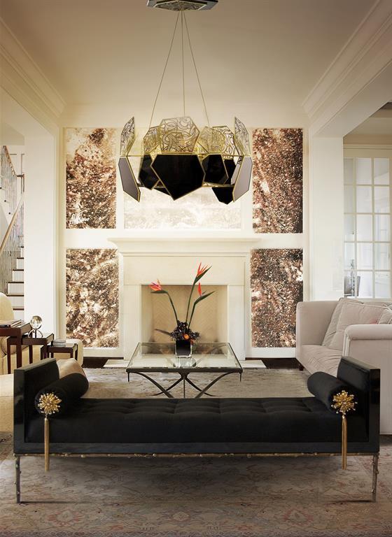 Décoration intérieure moderne et au style classique à la fois