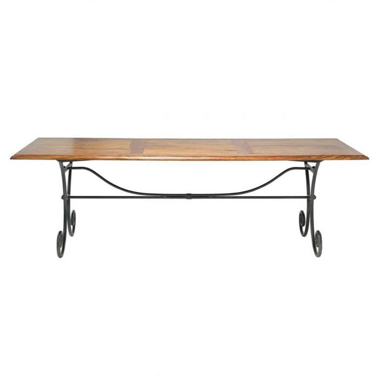 Table de salle à manger en bois de sheesham massif