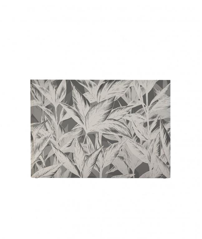 Tête de lit avec housse Gris 140 cm