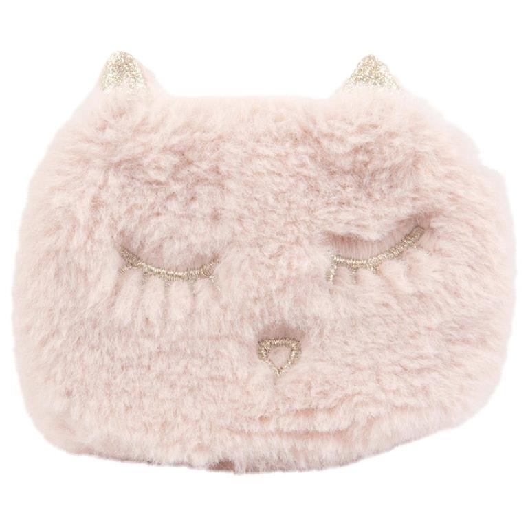 Chaufferette de poche chat rose et doré Maisons du monde